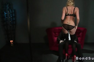 breasty breathtaking blond serf exotic dancer