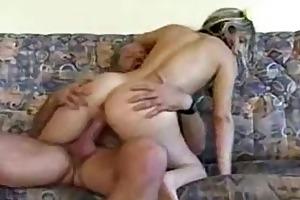 older man gives creampie